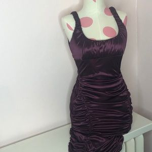 Plum Purple Formal Dress